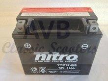 Accu YTX12-BS 10Ah nitro