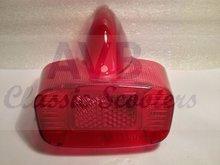 Achterlichtglas Bosatta rood GS160-VBB