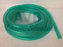 Benzineslang 7x14 mm groen of blauw, per meter