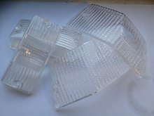 Knipperlichtglasset TRIOM PX wit