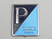 Logo Piaggio Genova rechthoek (GS 150) 37x48