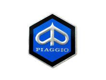 Logo zeskant Piaggio 32x37 oa PK50S