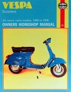 Haynes Handboek Vespa SF, Super, Sprint, Rally, engelstalig