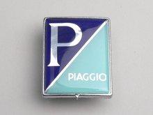 Logo Piaggio Rechthoekig embleem, kunststof