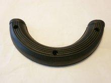 Voetsteunrubbers aan valbeugel Schitterende kwaliteit, ijzeren inlay en zeer goed rubber, set à 2